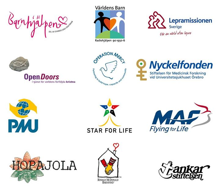 välgörenhetsorganisationer
