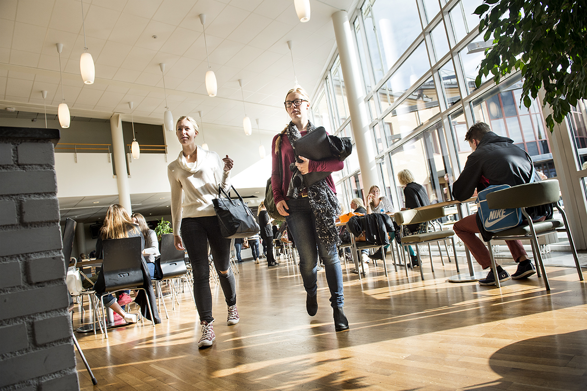 Örebro Universitet, miljöbilder på universitetet. Uppdrag åt Örebro Universitet.