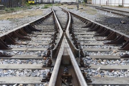 16759661-tåg-räls-på-friland