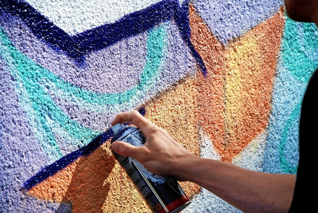 graffitivägg