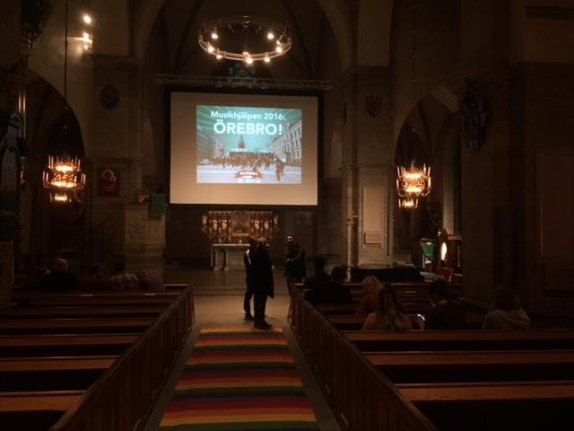 musikhjälpen logga kyrka