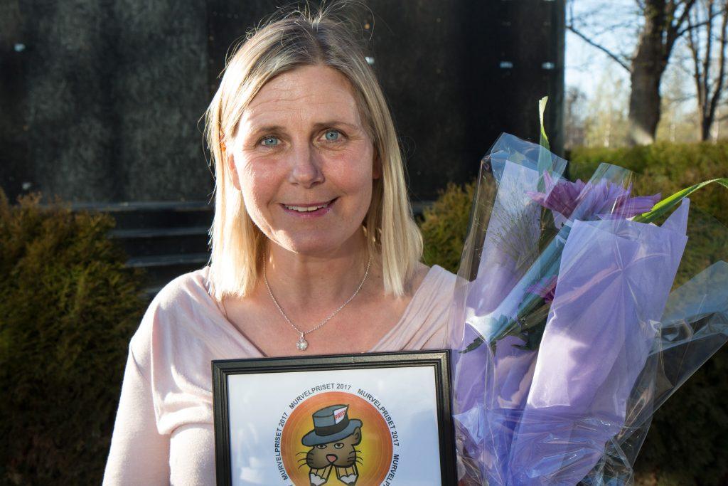 Anna Levin, journalist på NA, fick Murvelpriset 2017, för sin granskning av bostadbolaget Öbos tjänstebilar.
