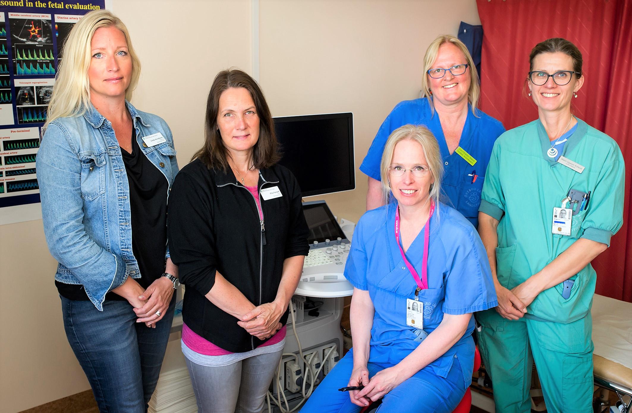Bild för pressmeddelande om förbättrat omhändertagande av gravida med fetma. Ansv: Ann-Kristin Rönnberg.